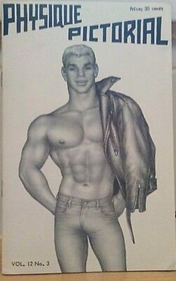 Physique Pictorial Volume 12 number 3 Tom of Finland Gay interest Magazine
