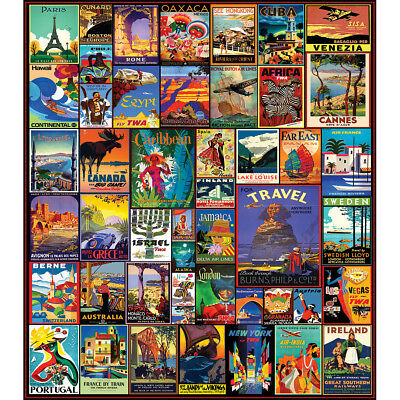 "Jigsaw Puzzle 550 Pieces 18""X24"" Travel The World WM1153"