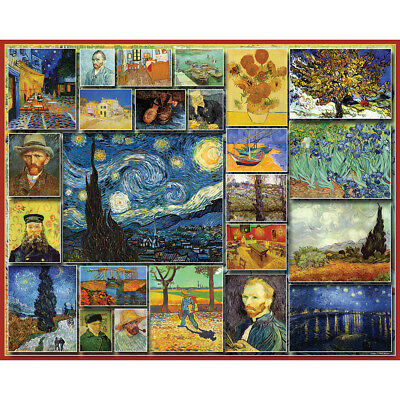 "Jigsaw Puzzle 1000 Pieces 24""X30"" Vincent Van Gogh WM900"