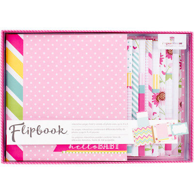 Flipbook Interactive Album  Baby Girl FB-0003E