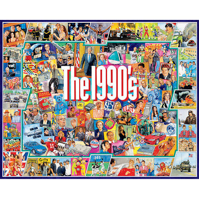 "Jigsaw Puzzle 1000 Pieces 24""X30"" The Nineties WM959"