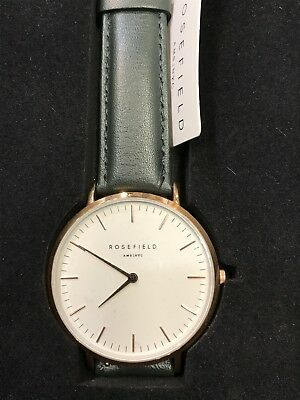 Watch Rosefield Steel Plated List Price 89,9 39mm Discounted New