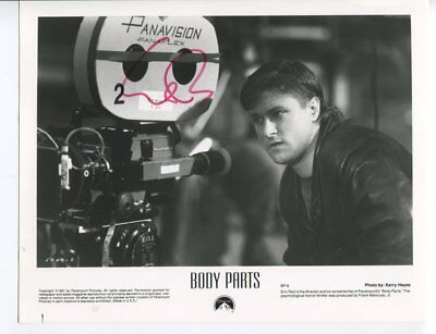film director ERIC RED autograph HAND SIGNED 5490