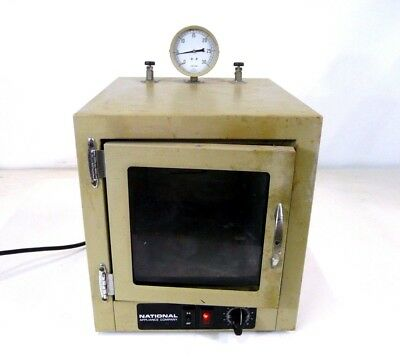 National Appliance 5831-6 Bench Top Vacuum Oven Lab Laboratory