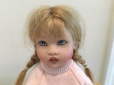 "Winter Riley 2005 - 7 1/2"" Doll Helen Kish USED"