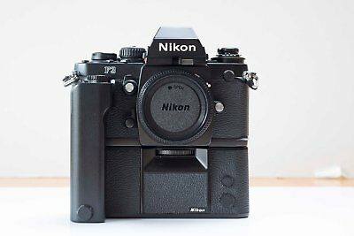 Nikon F3 with MD4 motor drive excellent condition