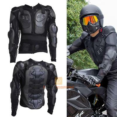Motorcycle MX Full Body Armor Jacket Spine Chest Shoulder Protection Riding New