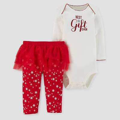 Baby Girls' Greatest Gift Ever Bodysuit and Tutu Leggings Set - Just One You&...