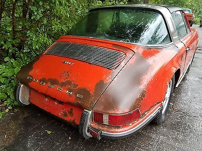 Porsche 1971 911 T Targa, complete car, for full restoration, CHEAP CHEAP CHEAP!