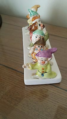 7 Dwarfs Toast Rack pre owned Free gift from Clover