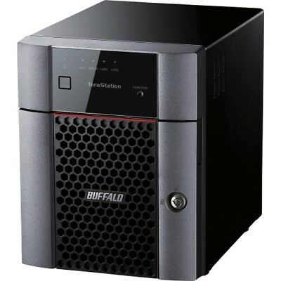 NEW Buffalo TS3410DN1604 4-bay Business NAS AL-212 1GB SAN/NAS Storage System