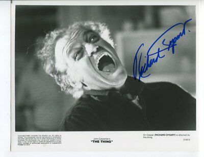 THE THING l.a. law RICHARD DYSART autograph HAND SIGNED 5535
