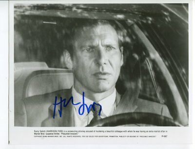 HARRISSON FORD autograph HAND SIGNED 5542