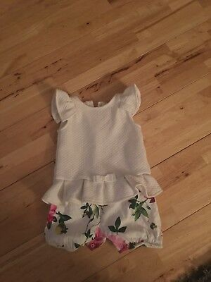 baby girl ted baker 6-9 months