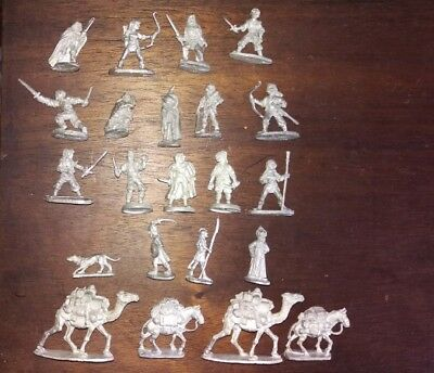 Ral Partha Thieves Rogues Assassins Brigands Treasure Caravan 22 Figure Lot