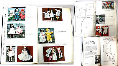 BARBIE 1978 DRESSING DOLLS 70's  CLOTHING PATTERN ILLUSTRATED BOOK BARBIES & +