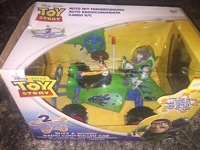 Toy Story Buzz And Woody Remote Controlled Car