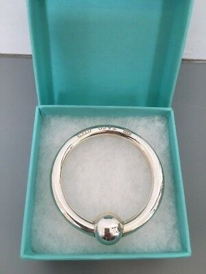 Tiffany & Co Silver Teething Rings /Rattle Christening Gift