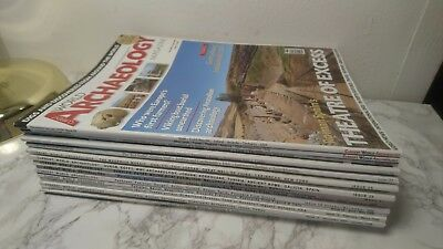 20 x Issues Copies Editions Current World Archaeology Magazines Job Lot Inc #1