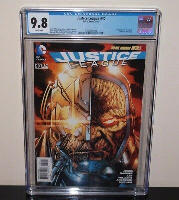 Justice League #40 CGC 9.8 White Pages 1st App Grail   Darkseid's Daughter