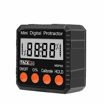 Digital Protractor Level Angle Gauge Angle Finder Qualified Zinc Alloy Shell