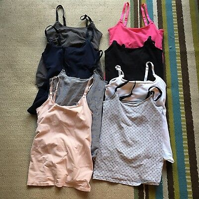 Lot H&M Tank Tops for Maternity/Nursing Shirts Size XS