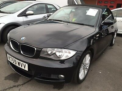 2009 Bmw 118I 2.0 M Sport Convertible, Low Miles Only 54K, Leather, Fabulous Car