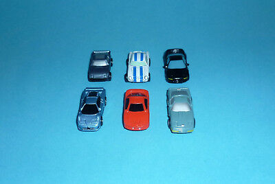 Micro Machines Autos - SPORTS CARS lot - Corvette Bugatti Honda NSX Fiat Abarth