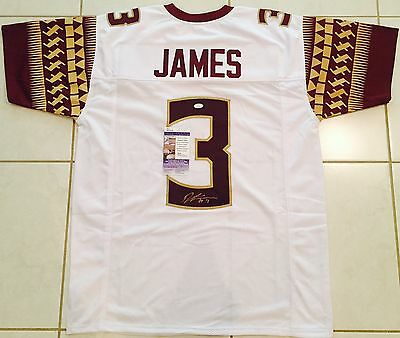 Derwin James Florida State Signed Custom Jersey JSA Authenticated