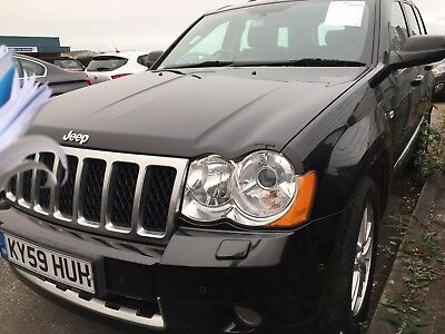 59 Jeep Grand Cherokee 3.0 Crd Overland Mega Spec,leather,sat Nav,new Dash Model