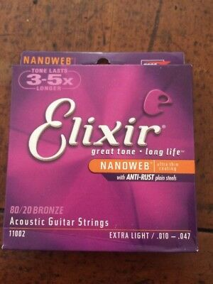 Elixir Acoustic Guitar Strings