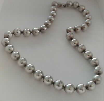 Taxco silver necklace TC-84.  925 approximately 80 grams.   Vintage.