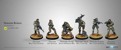 Infinity Haqqislam Hassassin Bahram Sectorial Army Starter box new