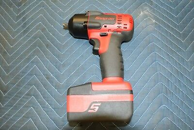 "Snap-On Lithium Battery Impact Wrench  CT8810A 3/8"" 18v + 1 Battery and Charger"