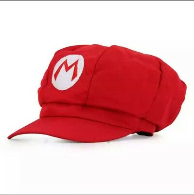 Super Mario Bros Anime Octagonal Hat Cap Cosplay Party Fancy Dress 5 Style UK