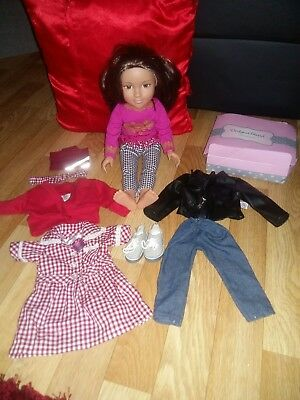 design a friend bundle doll and clothes