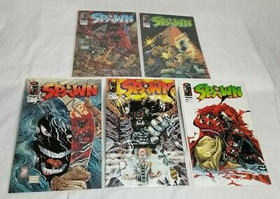 Spawn - Image Comics - Lot Of 5 Comic Books - Not Certified Or Graded
