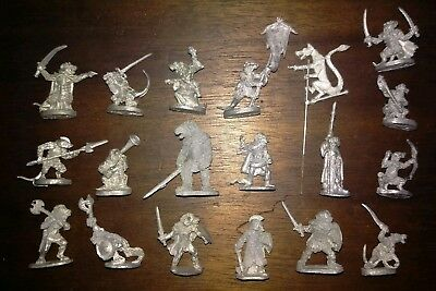 Ral Partha Fangs of Fury Rat Men Ratlings Beastmen 18 Figure Lot
