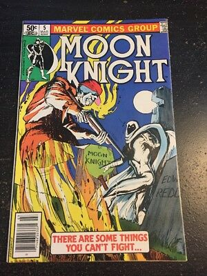 Moon Knight#5 Incredible Condition 9.0(1981) Sienkiewicz Art