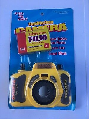 Vintage Bubble Gum Camera New In Package