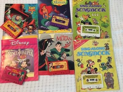 Children's Books On Tape--Disney Pack