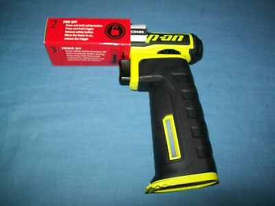 NEW Snap-on Torch 400 Torch400 Yellow Butane Gas Torch Open Box