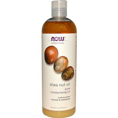 Solutions, Shea Nut Oil, Pure Moisturizing Oil, 16 fl oz (473 ml) - Now Foods