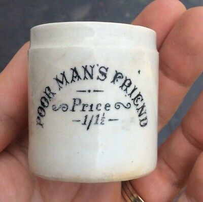 Poor Mans Friend Jar Beach & Barnicott Ltd  Bridport