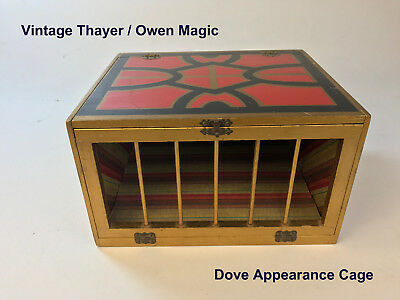 Vintage Thayer Owen Magic Supreme Dove Appearance Cage Circa 1960s