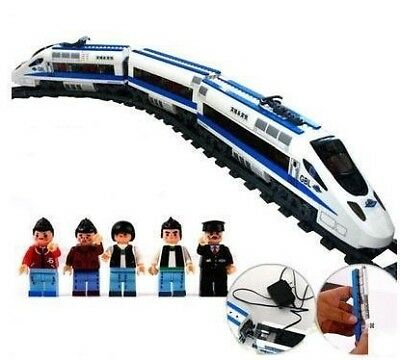 High Speed Battery Classic Train Tracks Set Toy Kids Gift Sound Light Children