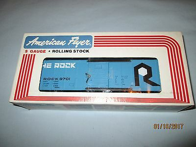 American Flyer #4-9701 Rock Box Car w/Original Box. New