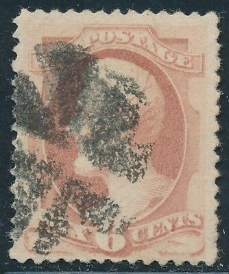 Dr Jim Stamps Us Scott 186 6C Lincoln Used No Reserve Free Shipping