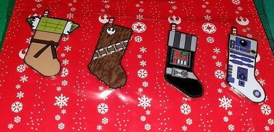 Disney Pins Star Wars Stockings Christmas BRAND NEW FREE SHIPPING