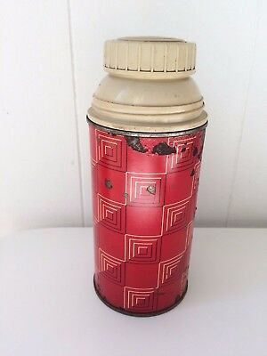 King Seeley Thermos Red Bottle